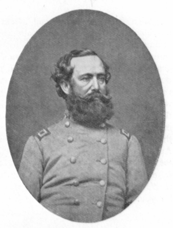 Black and white photograph of General Wade Hampton, in uniform.